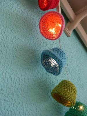 Ilonas Blog Kerstklokjes Haken Patroon Crochet A Christmas Bell