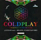 #Ticket  PARTERRE VIP PACK 4 Biglietti concerto Coldplay 3 LUGLIO Milano #italia