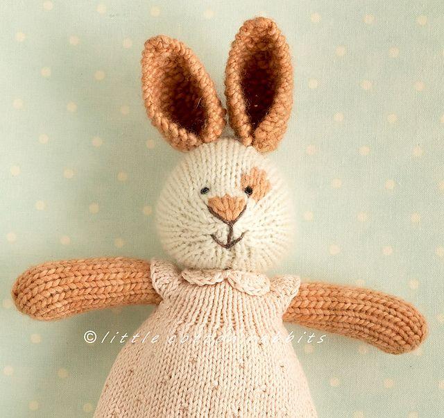 Knit Rabbit Pattern Free : Free pattern ravelry peter pan collar by little
