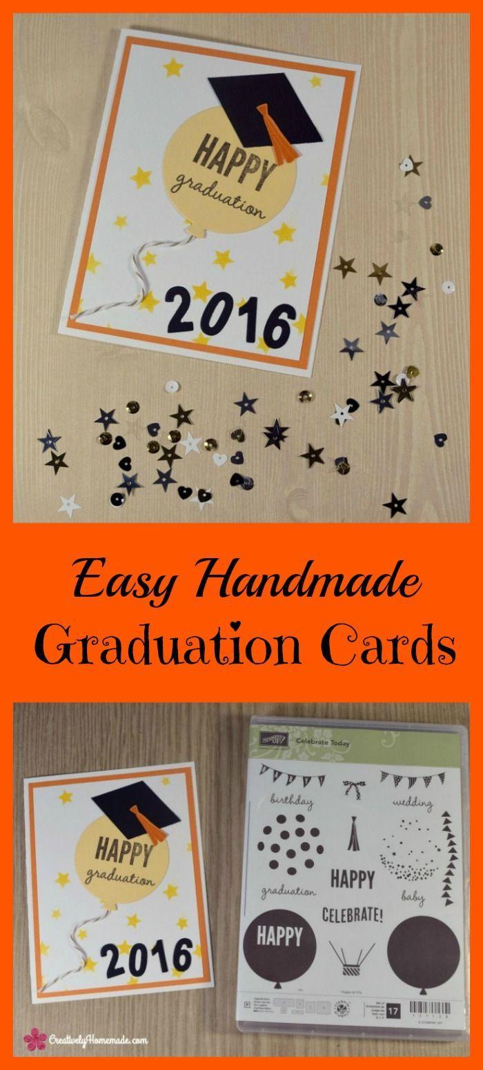 Easy Homemade Graduation Cards Happy Graduation Balloon Grad