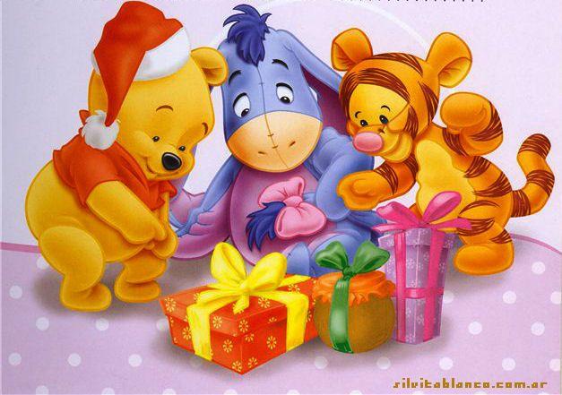 winnie pooh navidad - Pooh Christmas