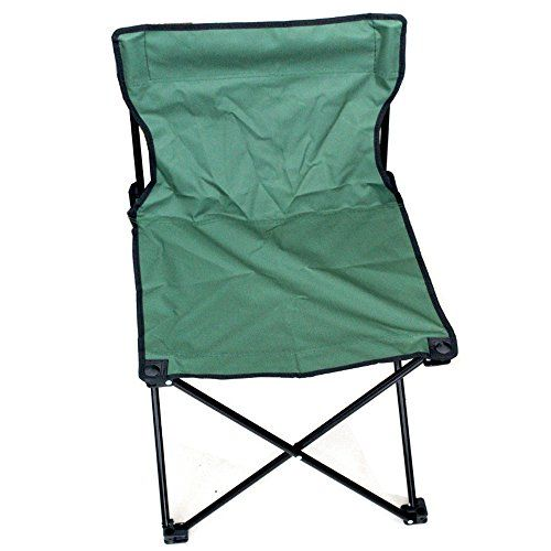 Goods /& Gadgets Fishing Stool//Camping Chair with Foot Rest Camping//Fishing Stool in Blue//Green