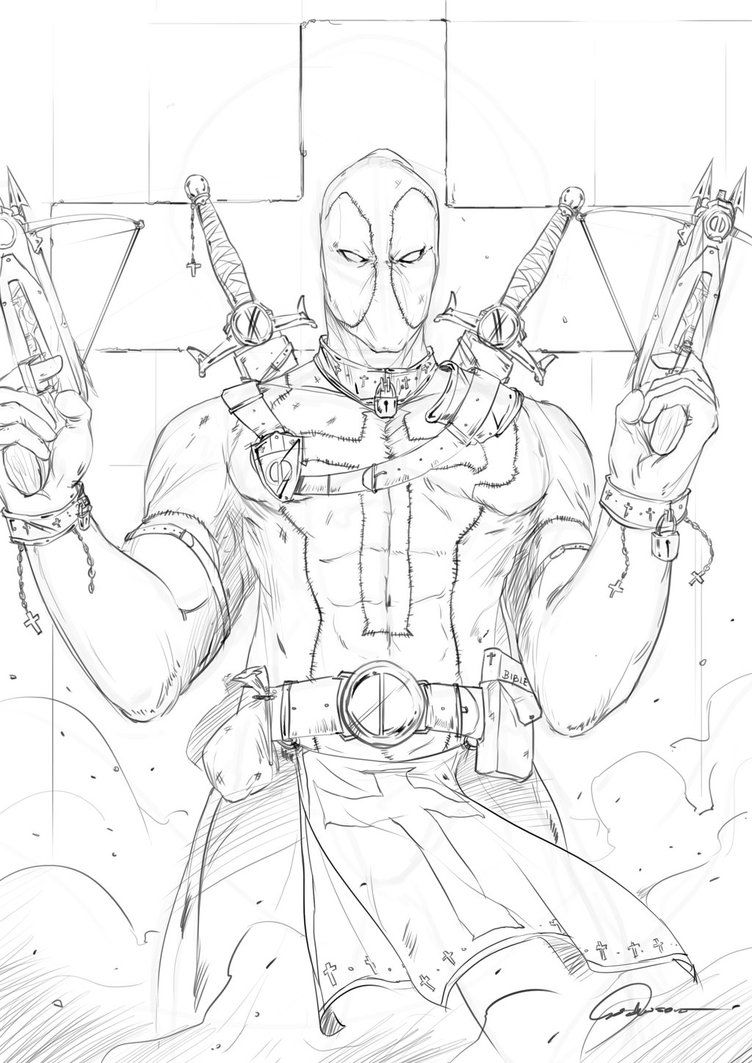 Medieval Deadpool by johnsonting | Johnson Ting | Pinterest