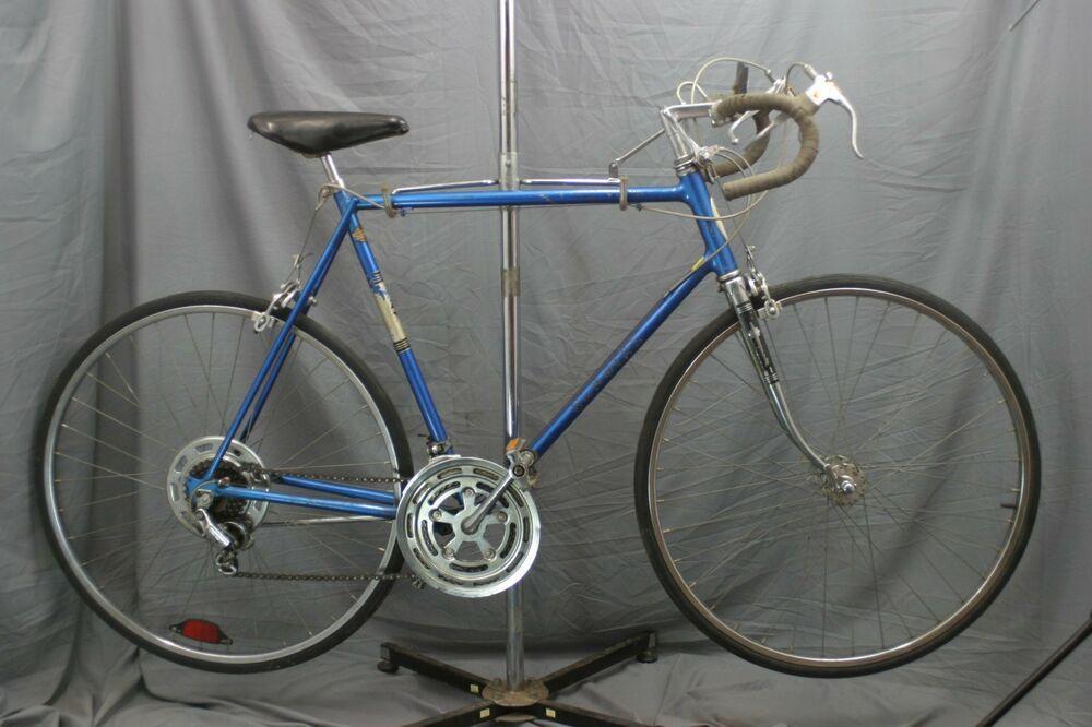 Schwinn Varsity Vintage Road Bike Chicago Usa Made 1960s Xl Blue