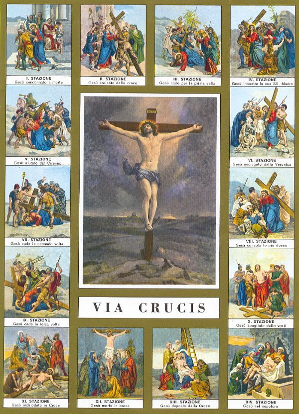 Lenten Practices 4: Stations of the Cross | 4)., 14 and Traditional