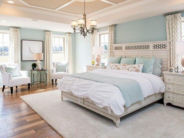48 Comfy Modern Coastal Master Bedroom Decorating Ideas Master