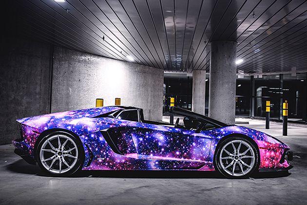 Lamborghini Aventador Roadster Galaxy By Dxsc 5 Cars N Racing