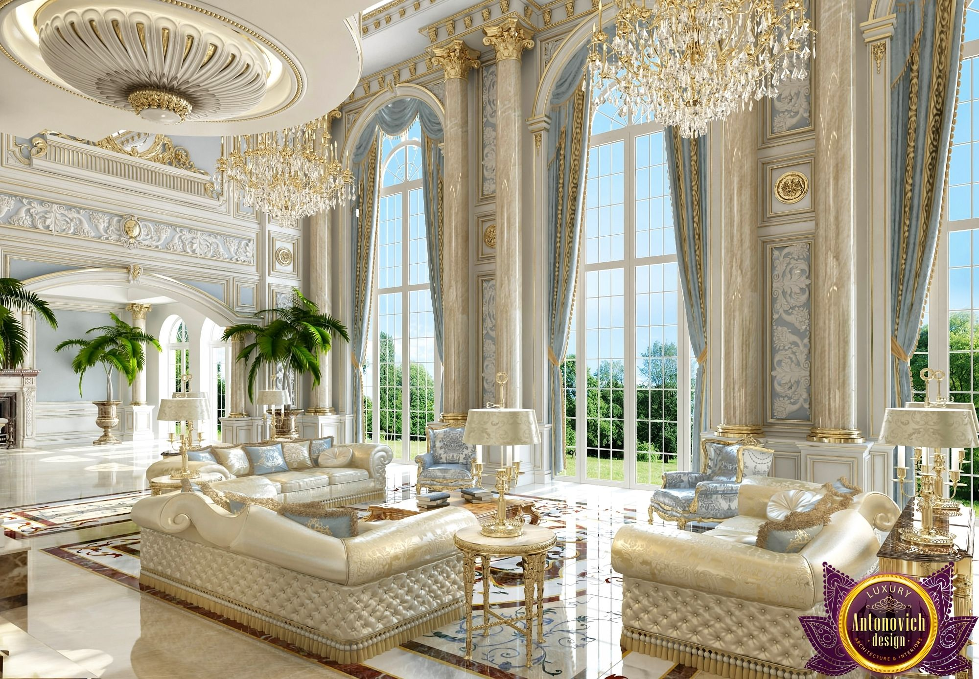 Villa Interior Design in Dubai, Best villa design, Photo 9 ...