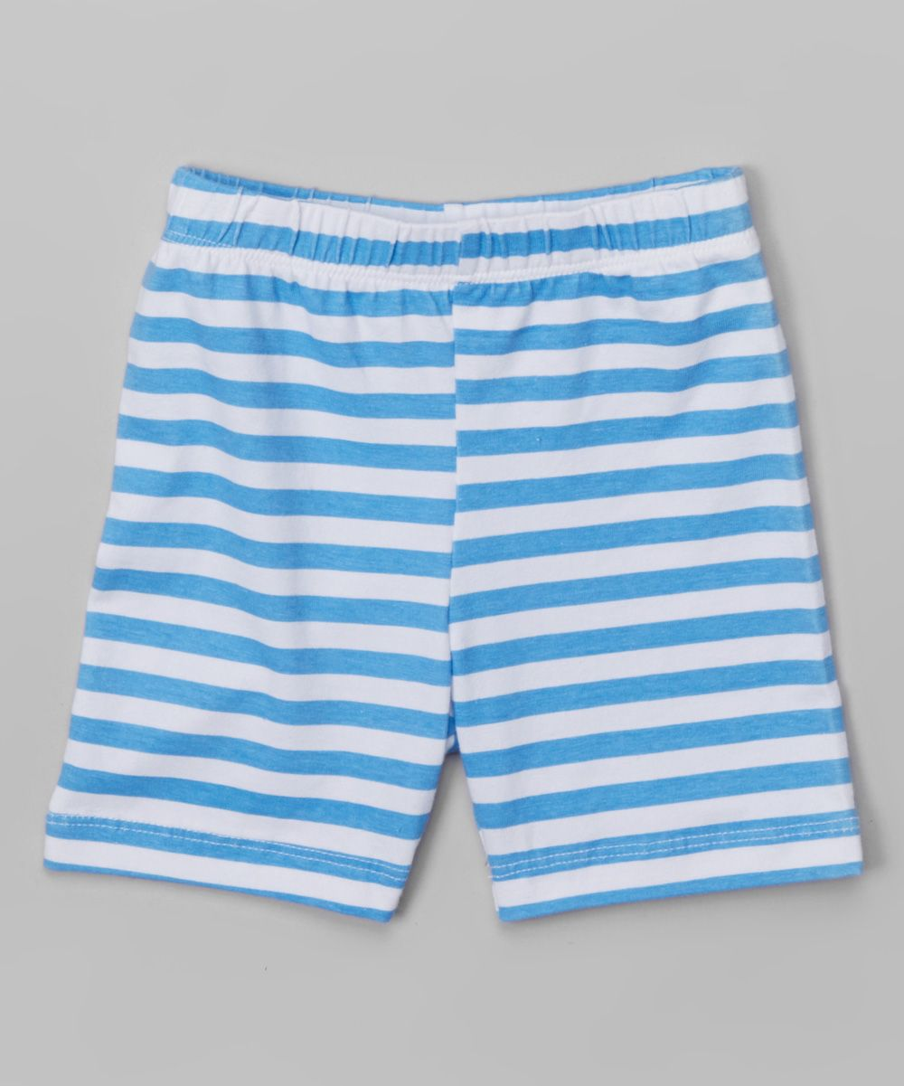 Sailor Stripe Hop Scotch Shorts - Infant Toddler & Girls
