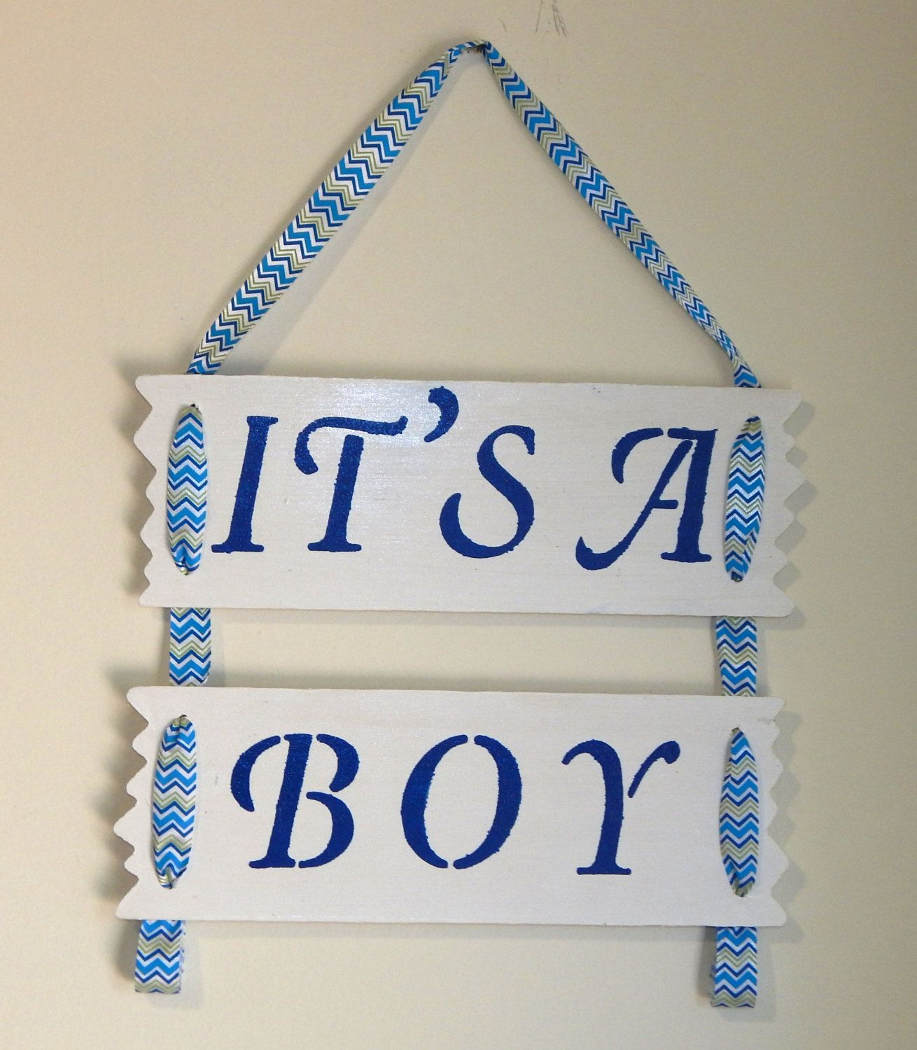 Wall Decor Signs Captivating It's A Boy Baby Signjwcraftcottage On Etsy  Nursery Decor Decorating Design