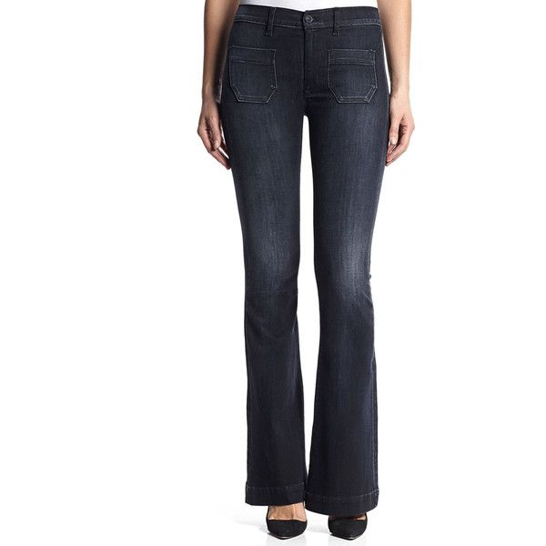 Sale Latest Collections Hudson high waisted flared jeans Supply Cheap Price Clearance Low Price Outlet 100% Original Clearance New Arrival URUYj