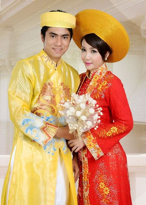 BRIDAL WEDDING DRESS - WR194 Plan a Vietnamese traditional wedding ...