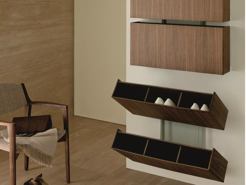 Best Wall Mounted Shoe Rack Plans Best