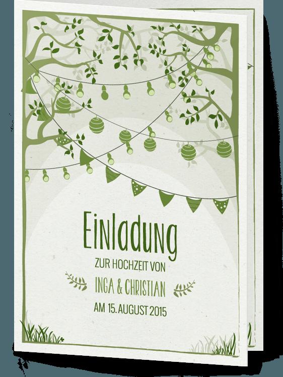 """Photo of Invitasjon """"Garden Dream"""" – Hochzeitskartendesign.com"""