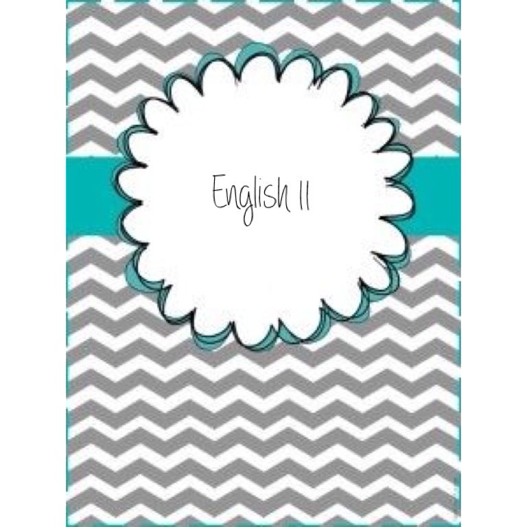 English Binder Cover Wordle - english binder cover