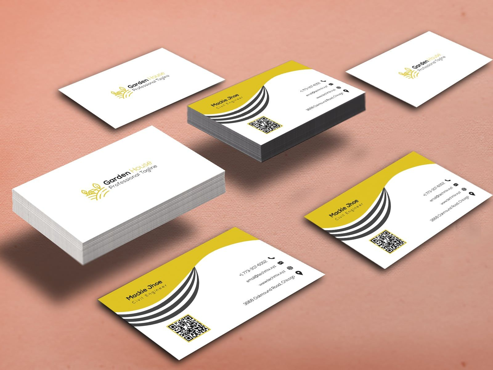Civil Engineer Business Cards Business Cards Creative Templates Business Cards Collection Cool Business Cards