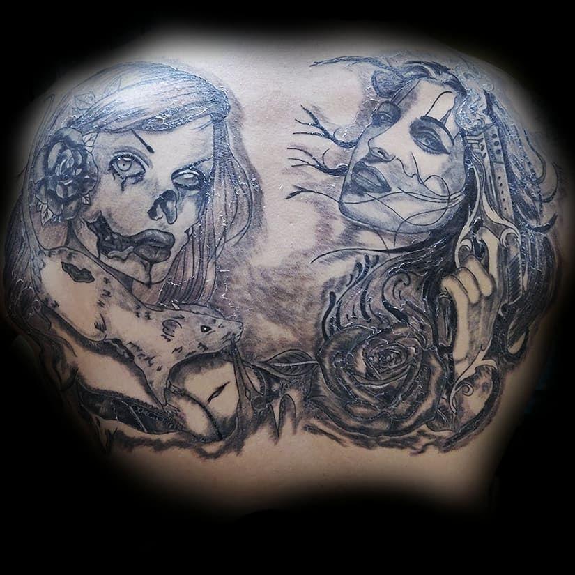 Облазят чертовки 😈 @bessmertniy_uznik @arttattoo.ua Сайт ▶️ TATTOOSHKA.FUN . . . #tattoolovers #bessmertniy_uznik #tattoorealistic #instatattoo #tattoogirls #tattookamenskoe #tattoosketch #famoustattoo #tattooink #tattooistartmag #татумодель #tattootime #tattoowork #tattooconvention #tattooideas #tattooartistmagazine #tattooaddict #tattoodnepr #tattoomodels #worldoftattoo #tattooartists #tattoolover #tattoolifestyle #tattoomagazine #tattooworld #tattooidea #tattooedwomen #татуднепр #tattoomachi