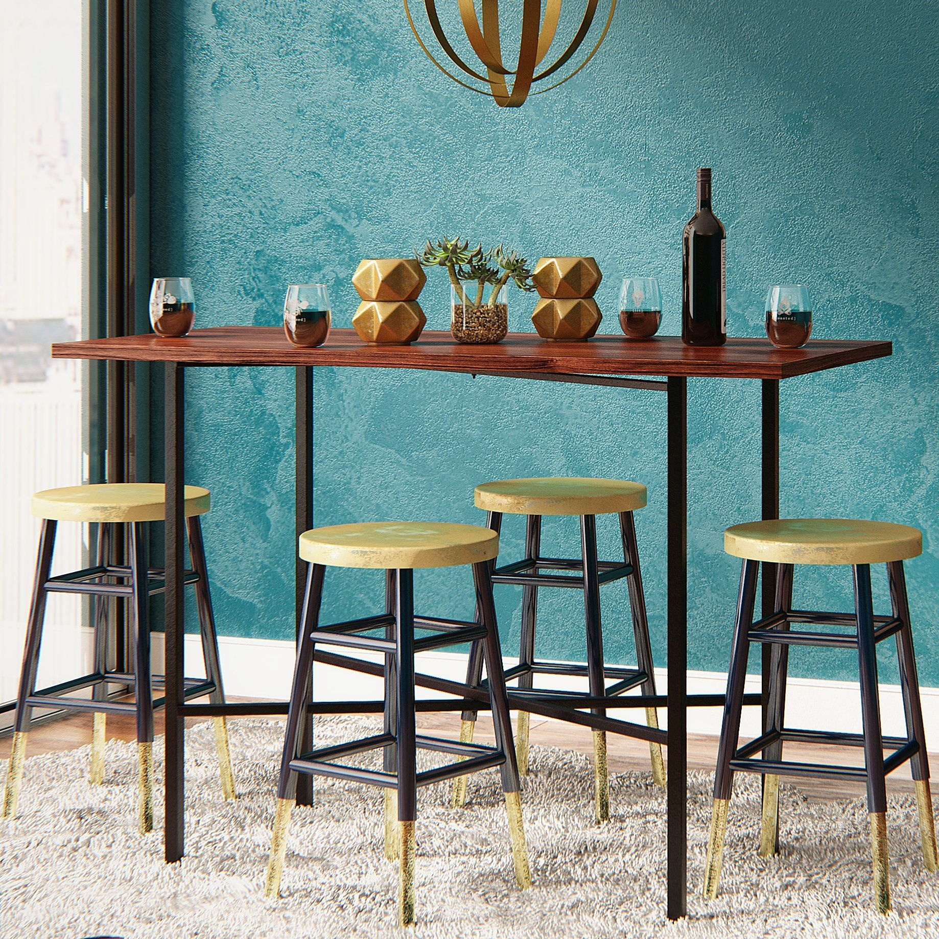 Xenia Counter Height Pub Table | Counter Height Tables | Pinterest ...