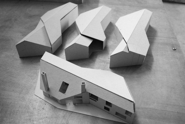 Architecture Student work. Development models