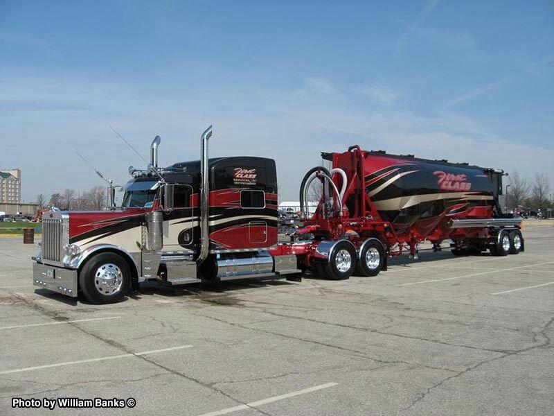 Custom Semi Trucks With Trailers