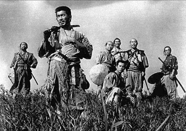 Magnificent seven, 1954 Great film A poor village under attack by bandits recruits seven unemployed samurai to help them defend themselves.   Director: Akira Kurosawa    Writers: Akira Kurosawa (screenplay),  Shinobu Hashimoto (screenplay)    Stars: Toshirô Mifune,  Takashi Shimura,  Keiko Tsushima  | See full cast & crew »