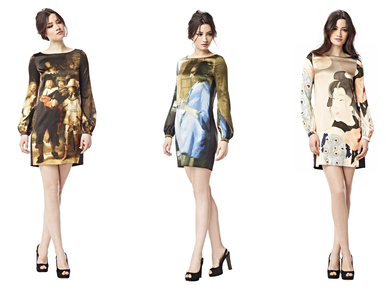 Love those Art Dresses by LaDress. Especially love that 'Nachtwacht' Dress.