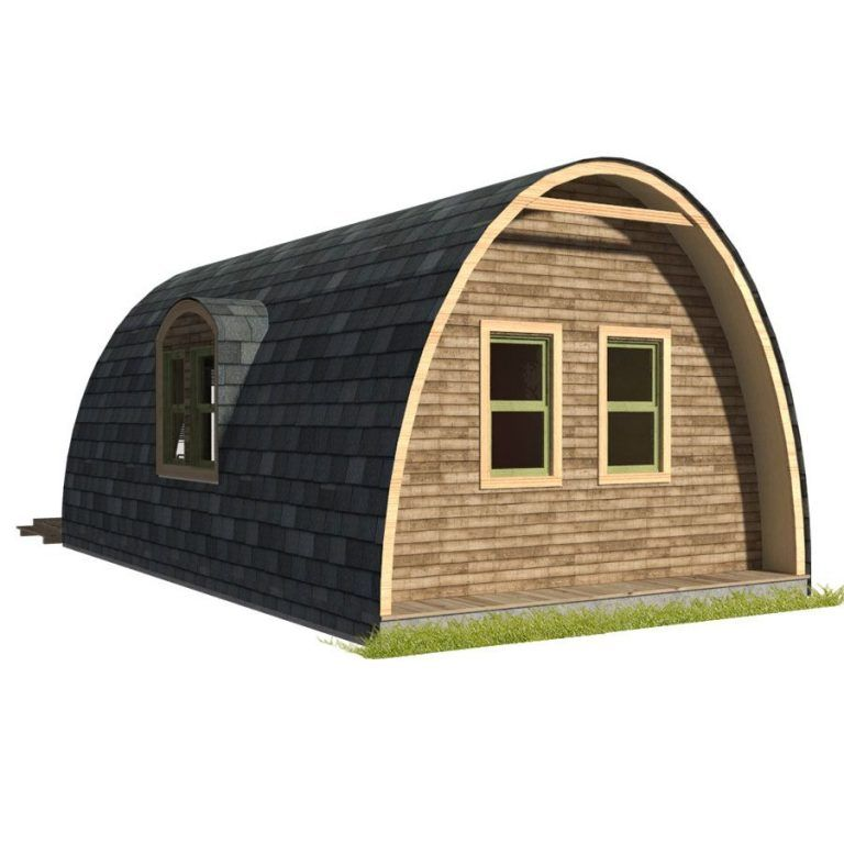 Pod House Plans Pod House Diy House Plans Arched Cabin