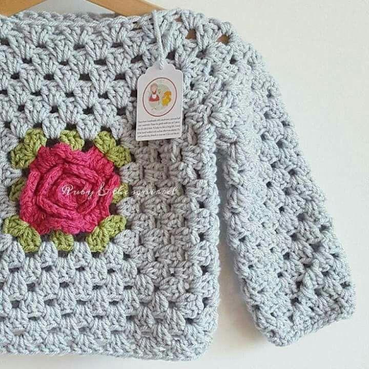 Pin von Ayelen Bustamante auf Tejidos (Crochet - Dos Agujas ...
