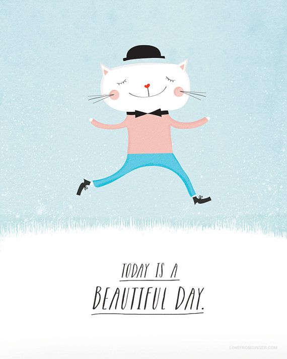 beautiful day art print...