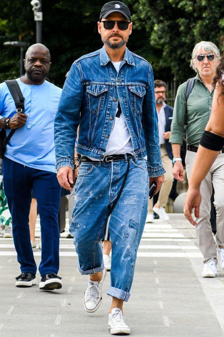 I Adore This Casualmensfashion Men S Denim Style Denim Fashion Mens Street Style