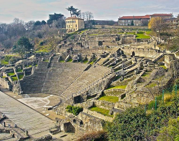 Image result for Musee Gallo-Romain de Fourvière Lyon and UNESCO Gallo-Roman Ruins.