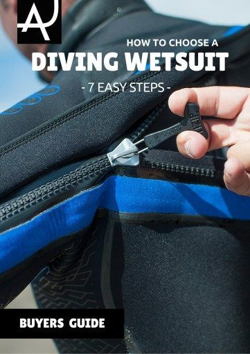 Learn how to choose a scuba diving wetsuit with this easy to read guide. Follow these 7 steps to select a diving wetsuit that will keep you warm underwater.