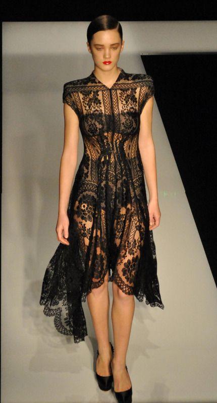 lace dress #lingerie-as-outerwear