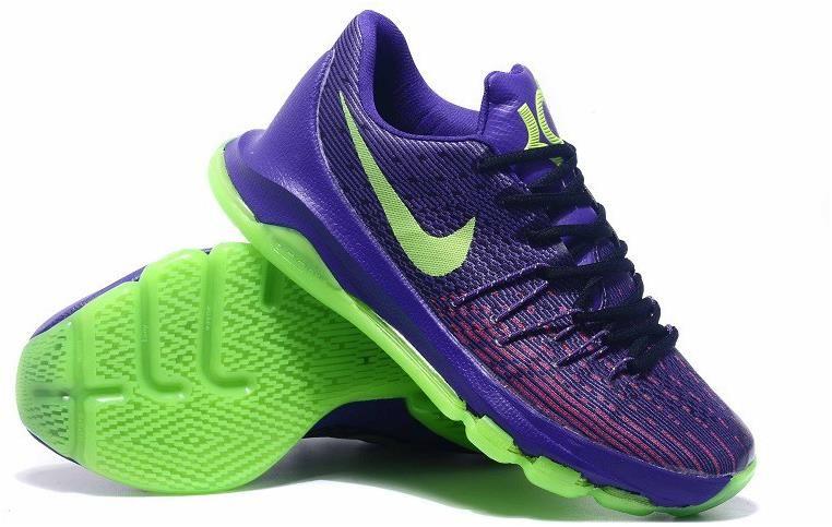 7e43a5fa0488 Nike KD 8 Purple Black Green Shoes0