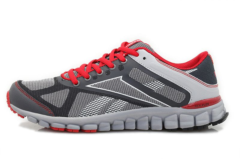 Reebok S Carter Grey Red Men's Running Shoes         #Grey  #Womens #Sneakers