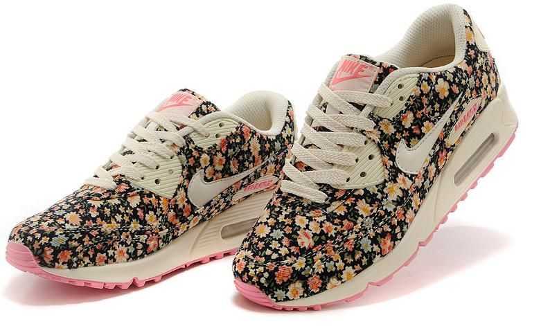Nike Air Max 90 Damskie Kolory 36 39 Floral 2wzory 4351064317 Oficjalne Archiwum Allegro Nike Air Max Trainers Nike Air Max 90 Nike Air Max For Women