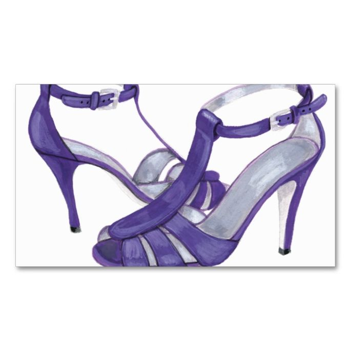 Purple Heels Personal Shopper Business Card. This is a fully customizable business card and available on several paper types for your needs. You can upload your own image or use the image as is. Just click this template to get started!
