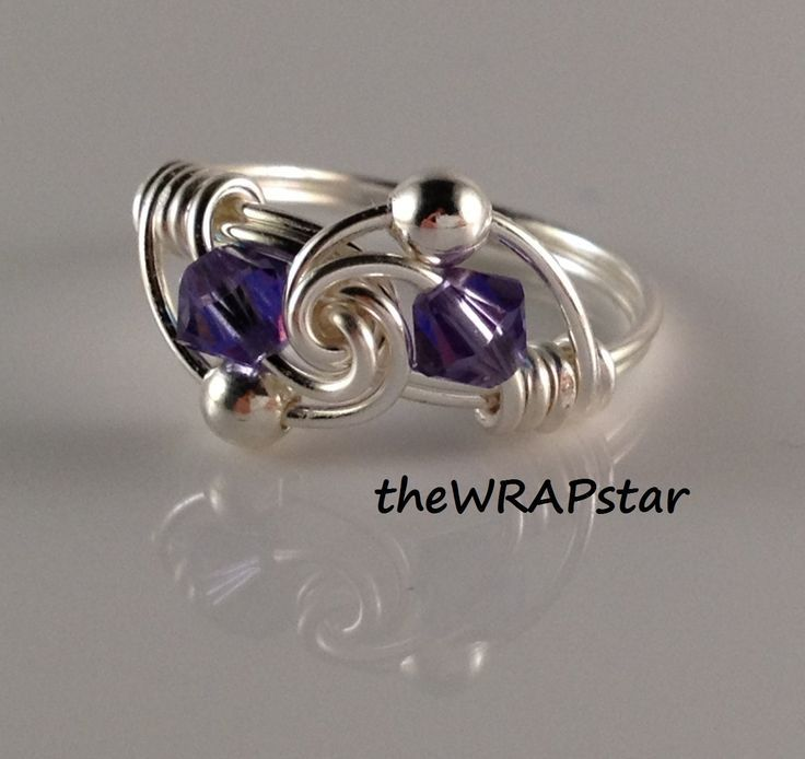handmade wire jewelry | wire handmade jewelry | Ring Wire Wrapped Jewelry Handmade ...
