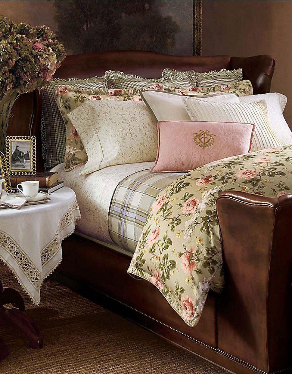 ralph lauren bedding shabby chic r o s a bett. Black Bedroom Furniture Sets. Home Design Ideas