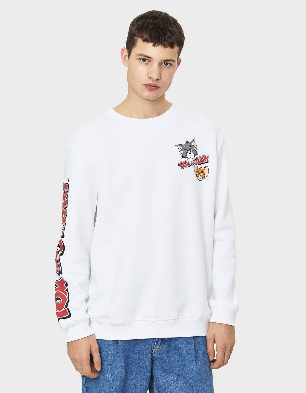 Bershka Tom And Jerry Bershka Bershkacollection Tomandjerry Cartoon Licencia Brand New In Newin Tre Long Sleeve Tshirt Men Mens Sweatshirts Fashion [ 1312 x 1024 Pixel ]