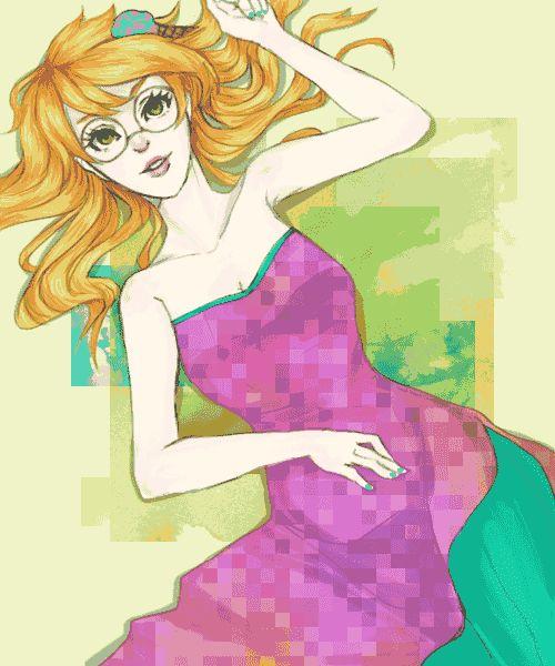 Jade Harley as a trickster is cute :3