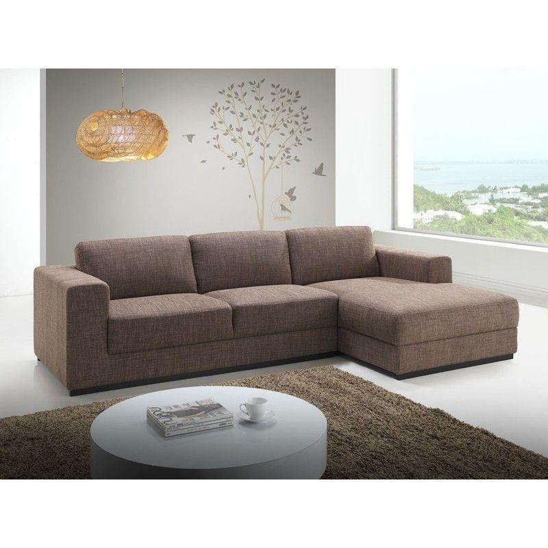 Le canapé d angle c´té Droit design 4 places avec méri nne