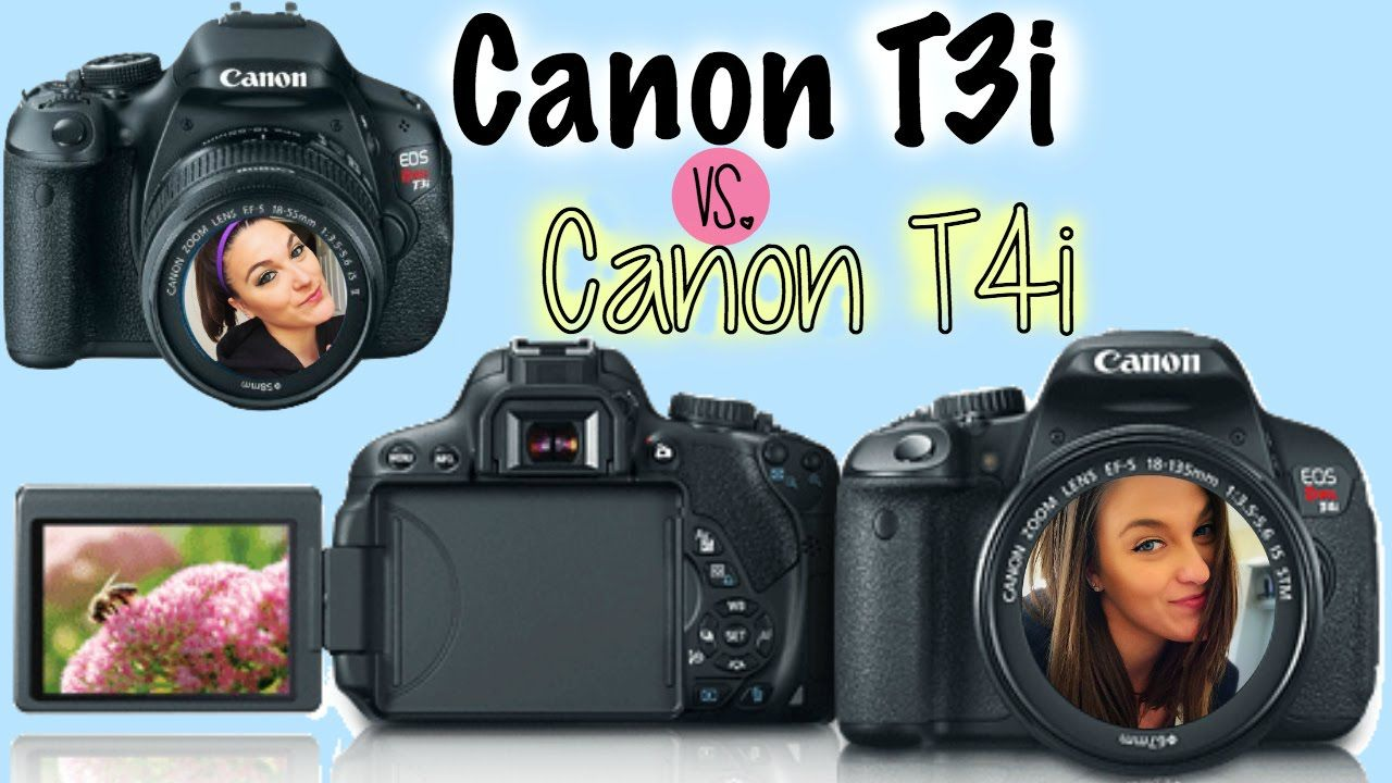 Best Camera For YouTube? | Canon Rebel T3i vs Rebel T4i | My Experience