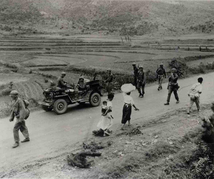 ***** The first Battle between US vs N.Korean Army, Korean War.**** Smith Task…