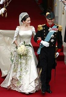 Princess Mary of Denmark. Married 14th May 2004.