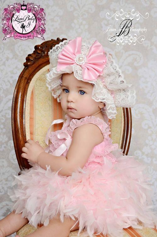 超可愛いレンタル ふわふわフェザースカート ボンネットセット ベビーピンク 0 3才 ハーフバースデー 結婚式 誕生日 フェザースカート ピンク セレモニー ドレス