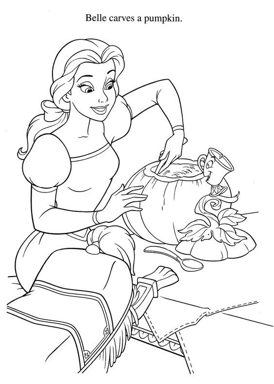 Coloring Page Disney Coloring Pages Halloween Coloring Pages Disney Princess Coloring Pages