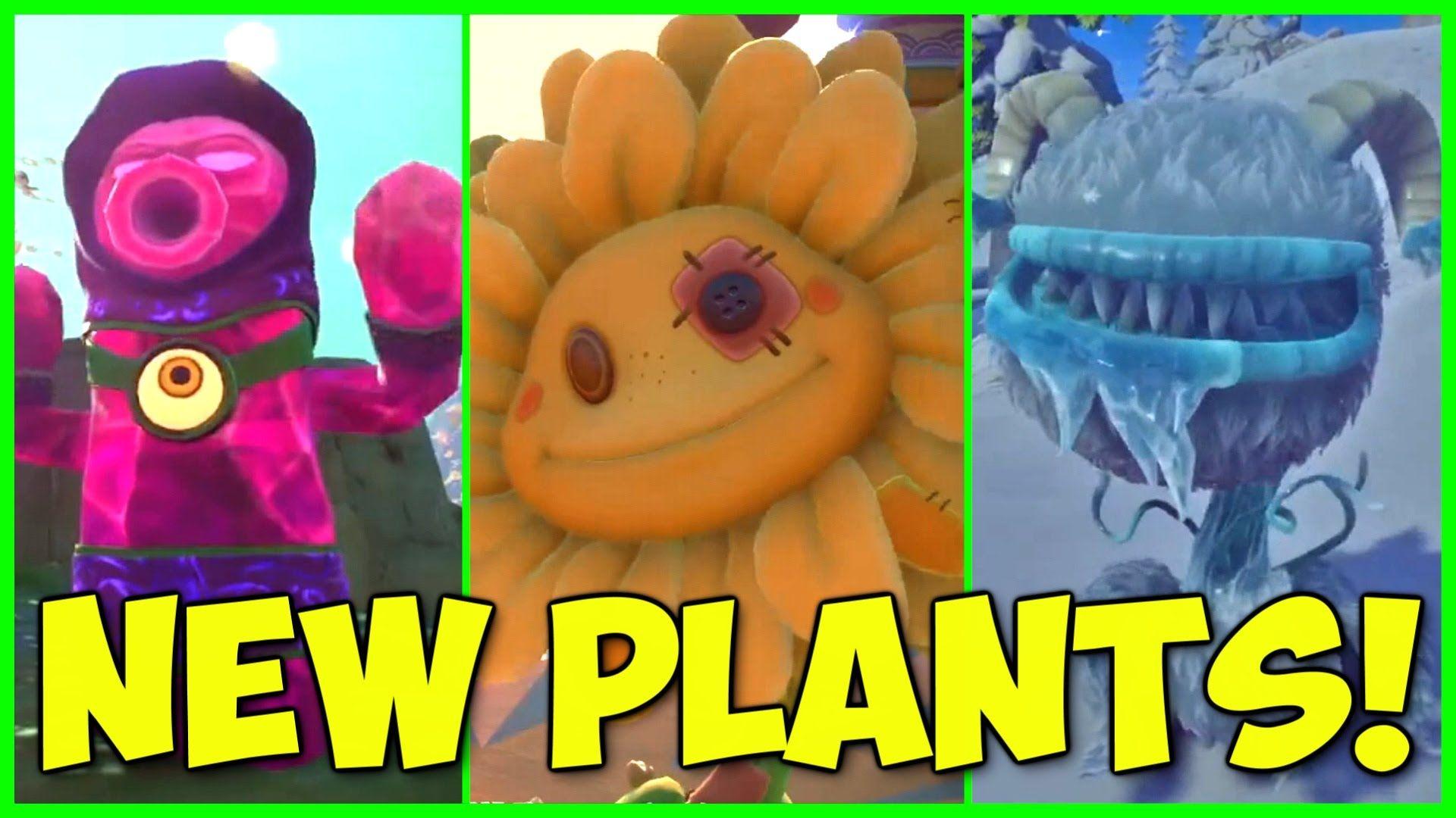 Pvz Garden Warfare 2 Zen Cactus Stuffy Sunflower Yeti Chomper 3 New Plant Variants Plants Cactus Plants Plants Vs Zombies