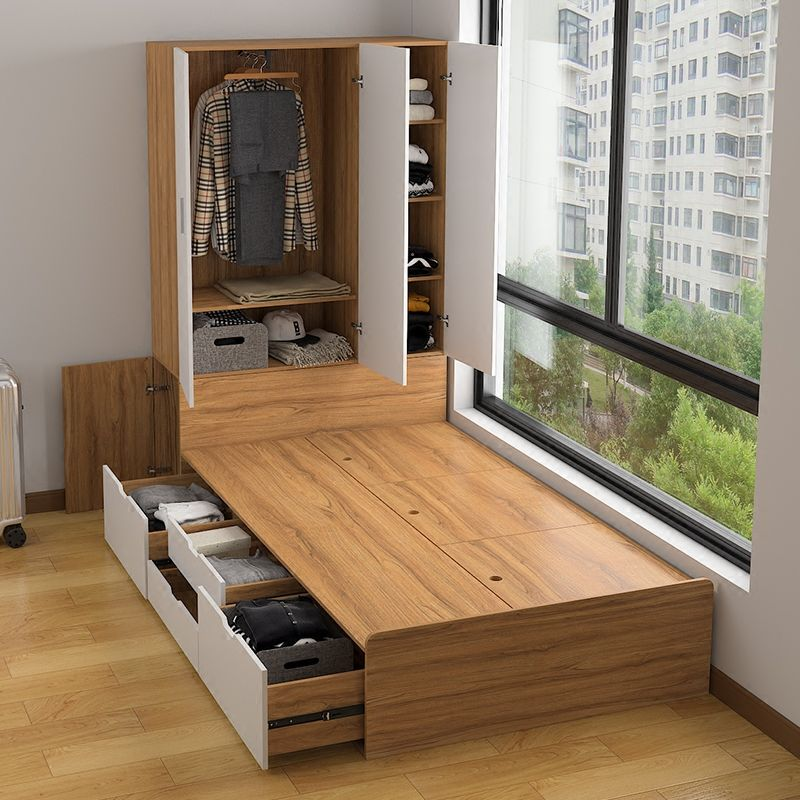 Best Multi Functional Tatami High Box Storage Double Bed 640 x 480
