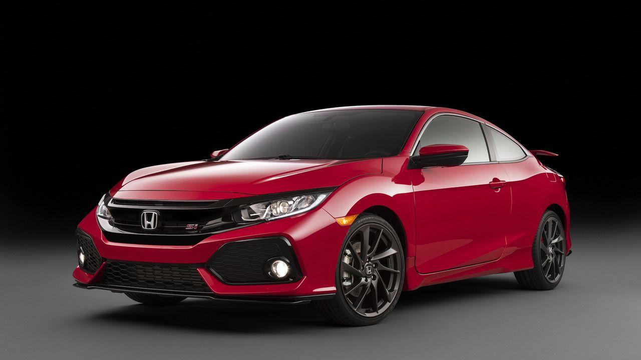 2017 Honda Civic Si Prototype Honda Civic Si Honda Civic Si Coupe Honda Civic